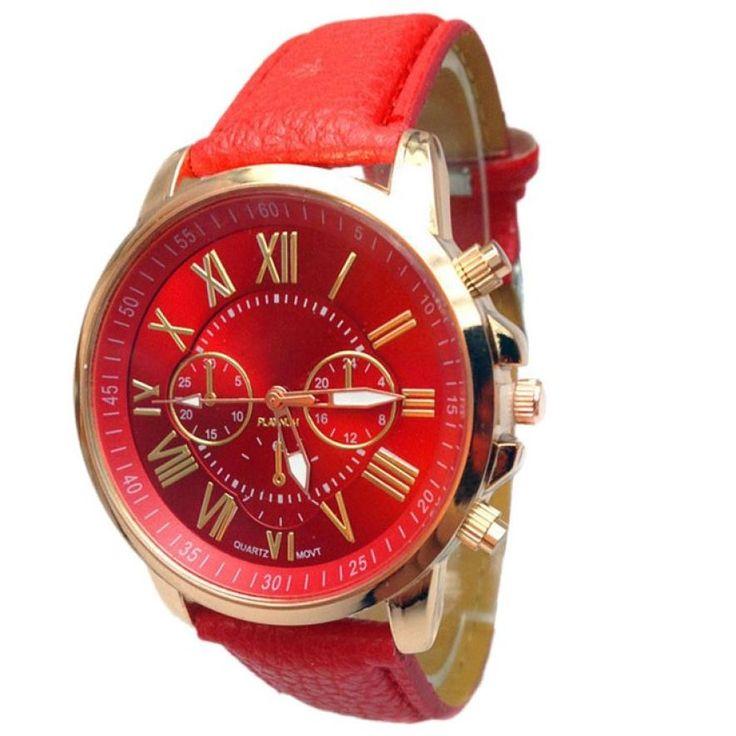 $1.09 (Buy here: https://alitems.com/g/1e8d114494ebda23ff8b16525dc3e8/?i=5&ulp=https%3A%2F%2Fwww.aliexpress.com%2Fitem%2FWatches-women-fashion-watch-2016-luxury-brand-Ladies-Wrist-Watches-Roman-PU-Leather-Clock-For-Women%2F32787714204.html ) Watches women fashion watch 2016 luxury brand Ladies Wrist  Watches Roman PU Leather Clock For Women Men masculino reloj mujer for just $1.09