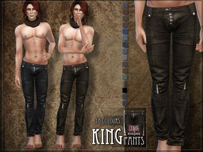 The Sims 4: Spodnie męskie od RemusSirion