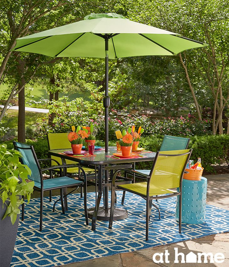Fun Outdoor Living : 17 Best images about Patio set on Pinterest  Iron patio ...