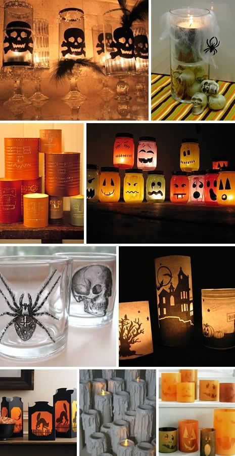 Diy~Halloween decorations and ideas.