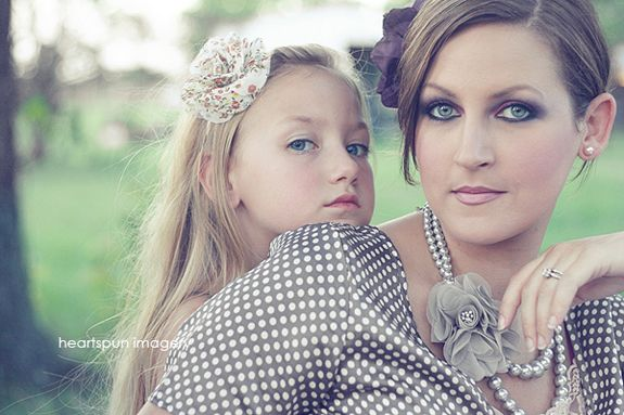 mother daughter shot