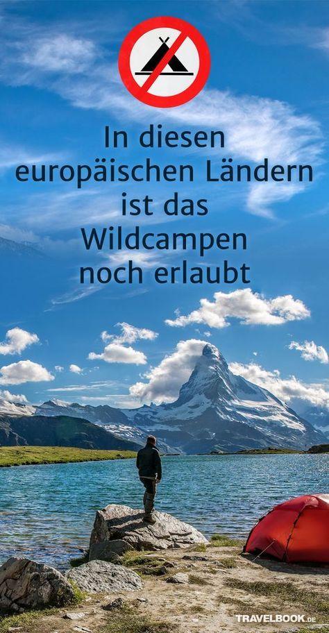 In diesen europäischen Ländern darfst du noch wildcampen