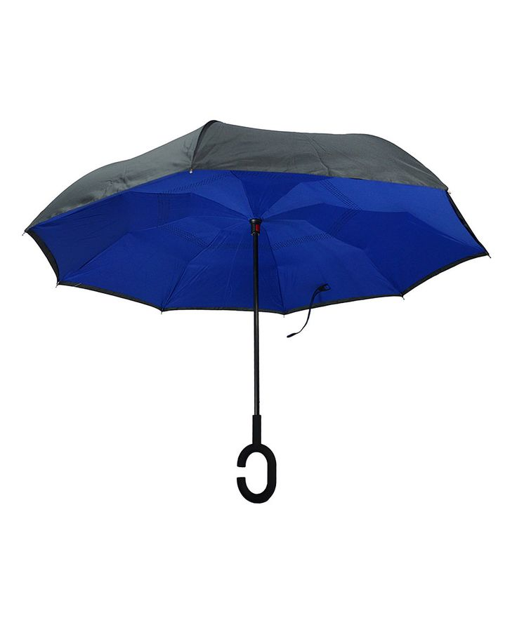 Take a look at this Blue Inside-Out Umbrella today!