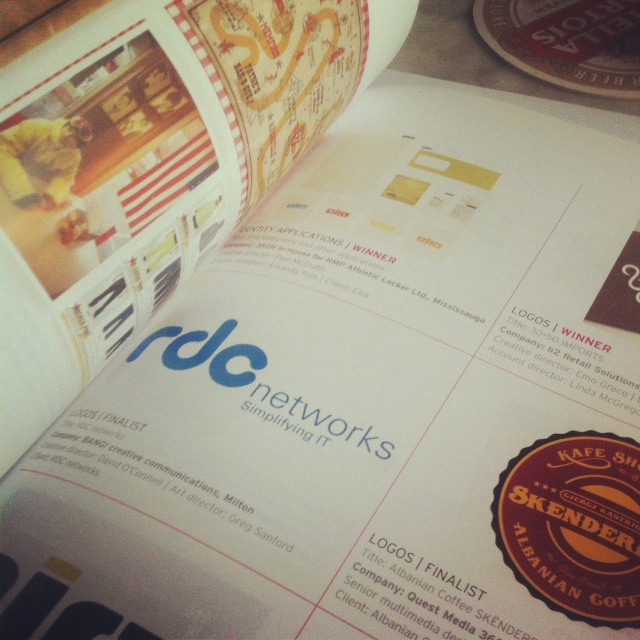 One of our logos made it as a finalist  in the Design Edge Canada Regional Awards.