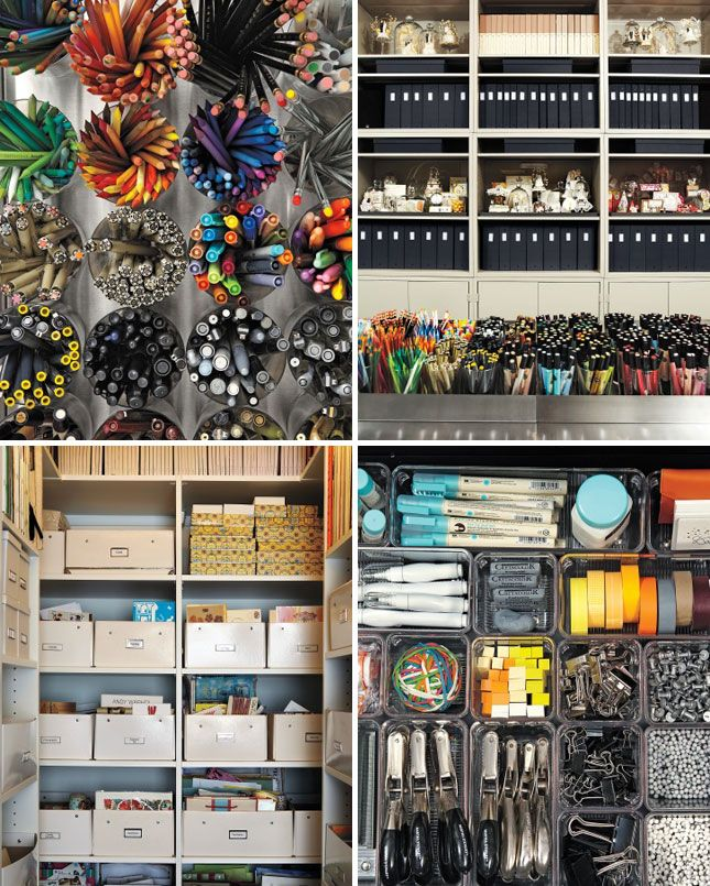 Every pen you could ever want. SO organized | Maker Spaces