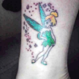 My tinker bell tattoo <3