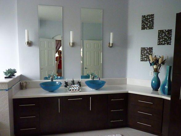 ... Bathroom Ideas Blue And Brown