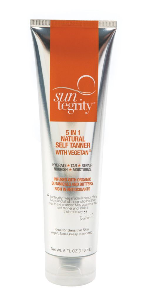 The sun may not be kind to your skin, but Suntegrity's 5 in 1 Natural Self Tanner is. Infused with eco-certified DHA made from sugar beets, the product helped our testers achieve a golden glow that looked natural, never felt greasy and, best of all, didn't stink — in fact, its coconut scent is reminiscent of the beach. It's so hydrating, one tester described it more as a great moisturizer and thought the added tan was a terrific side perk.  $36; suntegrityskincare.com #oxygenmag #fitgifts