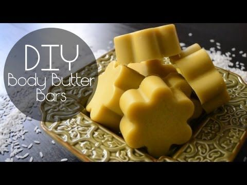 how to make body butter bars like lush
