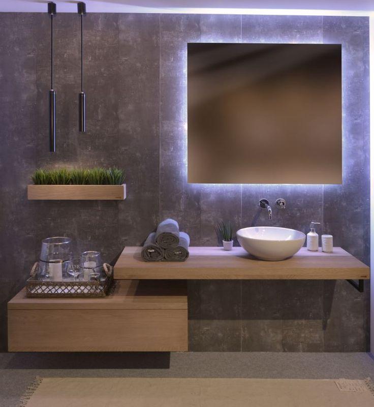 25+ beste ideeën over Grote badkamerspiegels op Pinterest ...