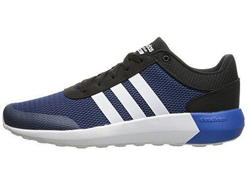 adidas NEO Men\u0027s Cloudfoam Race Running Shoe Black/White/Satellite 11.5 ...