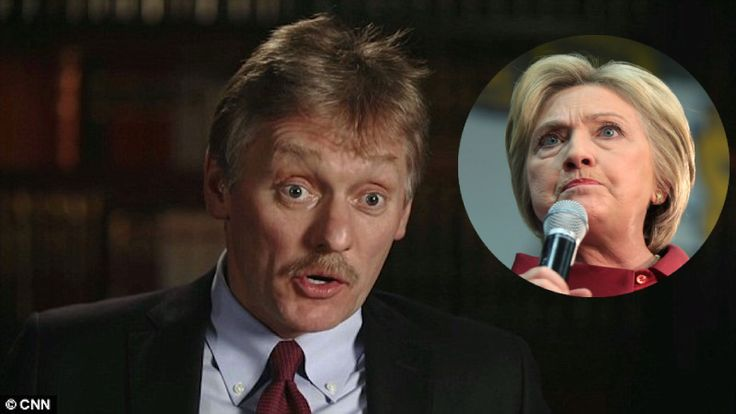 Hillary Clinton's worst nightmare just came true! Earlier today, Vladimir Putin's spokesman, Dmitry Peskov, went on CNN and revealed 2 MASSIVE facts that will RUIN Hillary Clinton and the Democrats all at once! Russia had NO meaningful communications with President Trump's campaign The top people Hillary Clinton's campaign ALSO met with the Russian ambassador during …