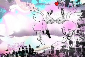 Love Is In The Air LA | Limited Edition of 33 and 3 Artist Proofs