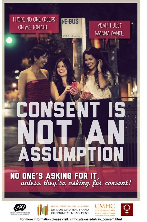 We love this Consent Campaign from UT Austin. For more info about #consent check out loveisrespect.org!