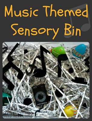 And Next Comes L: Music Themed Sensory Bin