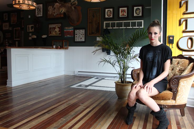 AMABILE STYLE on Location MTL Bait & Schlang Tattoo