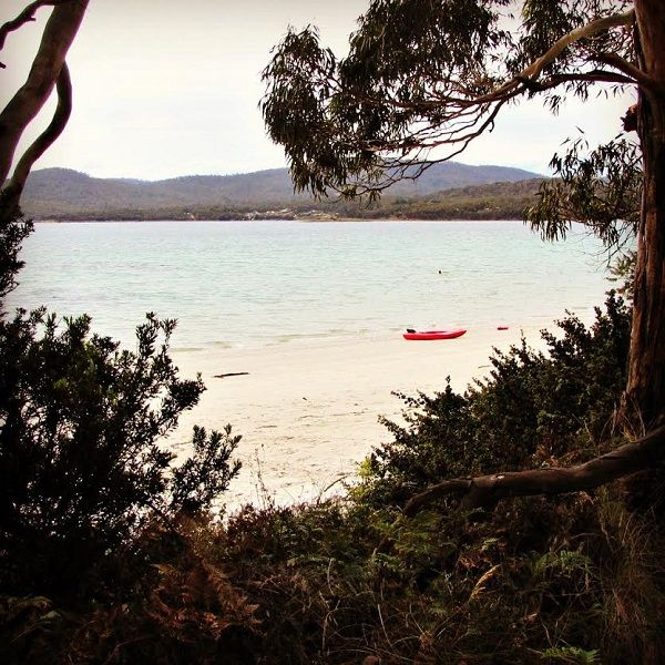 White Beach near Nubeena on the Tasman Peninsula Article and photos for think-tasmania.com #Tasmania #Beach