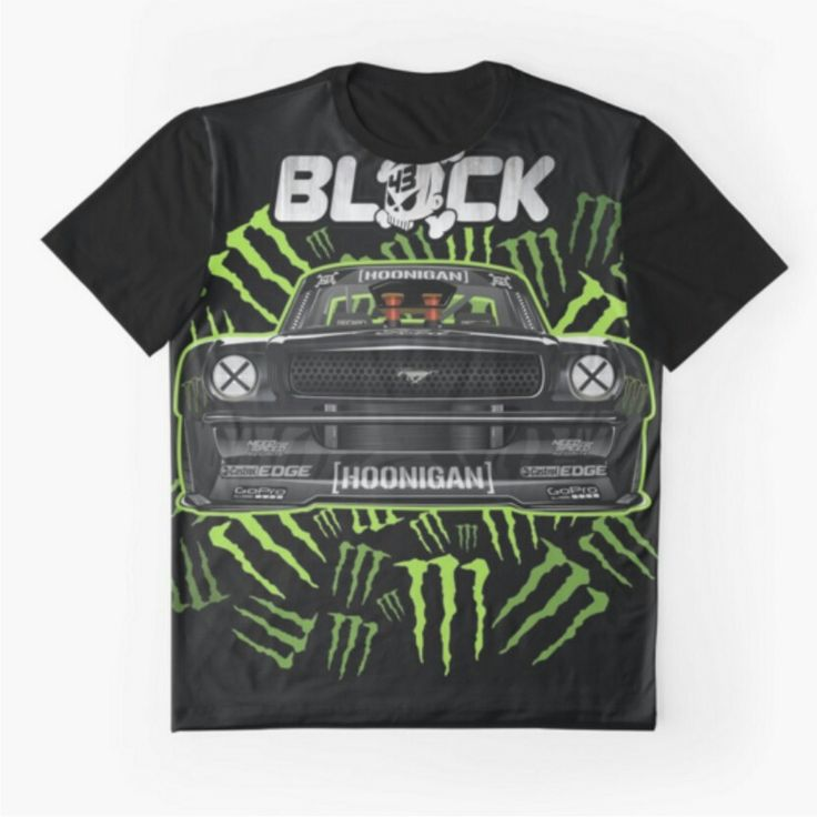 other category available www.redbubble.com/people/komangpuja #hoonigan #fordmustang #kenblock #drift #ford #tshirt #car #automotive