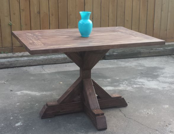 1000 Ideas About Pedestal Tables On Pinterest Amish