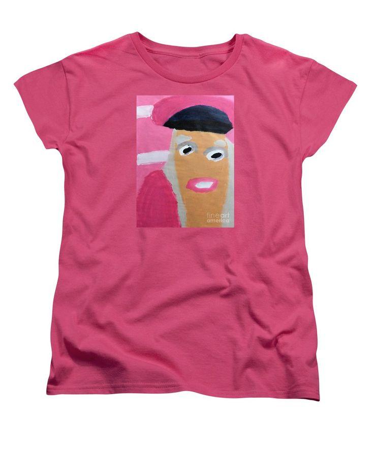 Patrick Francis Women's T-Shirt featuring the painting Nicki Minaj 2014 by Patrick Francis