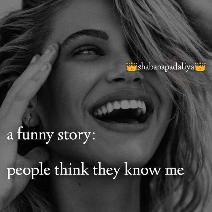 shabanapadaliya👑 Girly quotes, Funny stories, English quotes