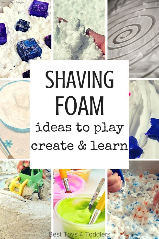 Shaving Foam Ideas For Kids To Play Learn And Create Best Toys 4