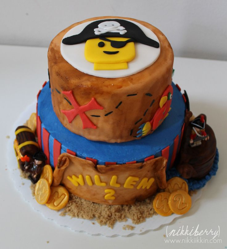 Lego Pirate Cake- for dominic in may!