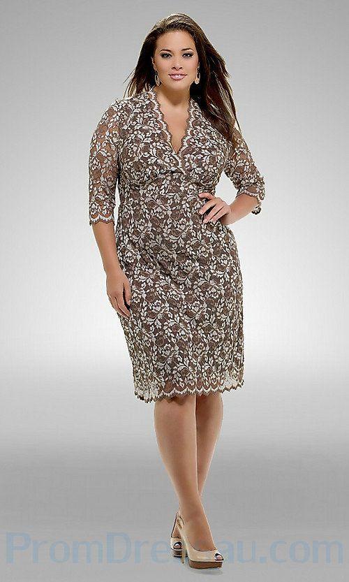 piniful.com plus-size-lace-dresses-08 #plussizefashion