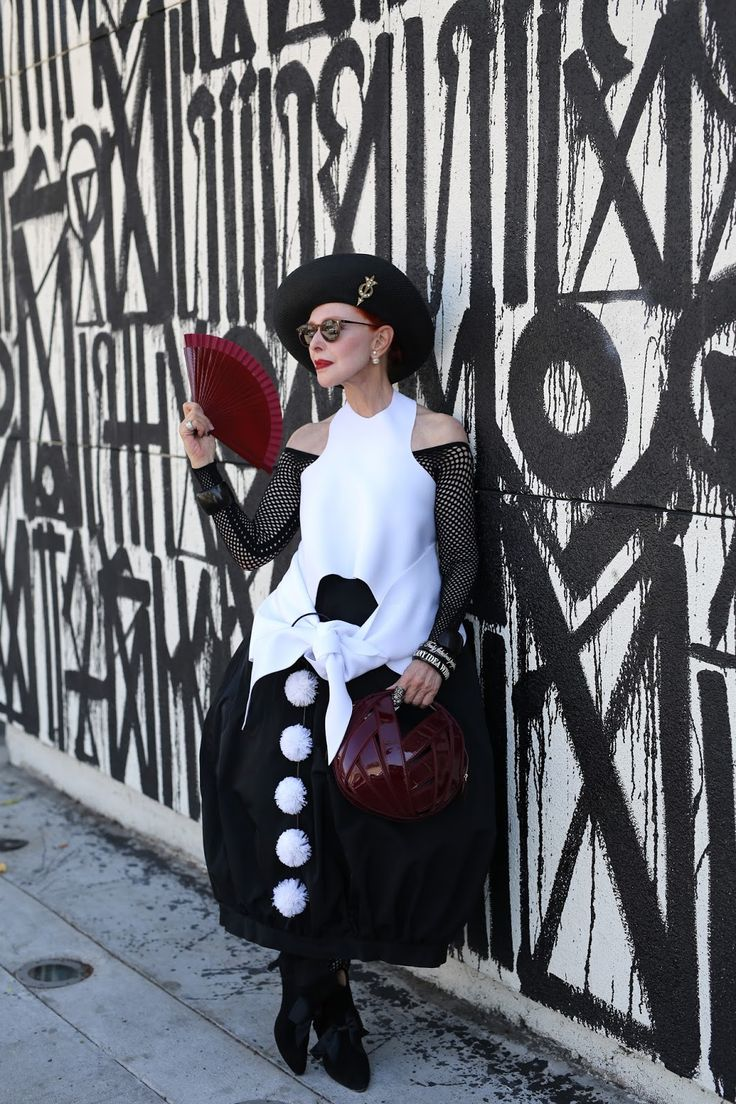 ADVANCED STYLE: Valerie von Sobel, West Hollywood