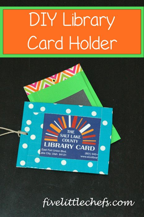 library craft ideas library card holder library card duct crafts and 2345