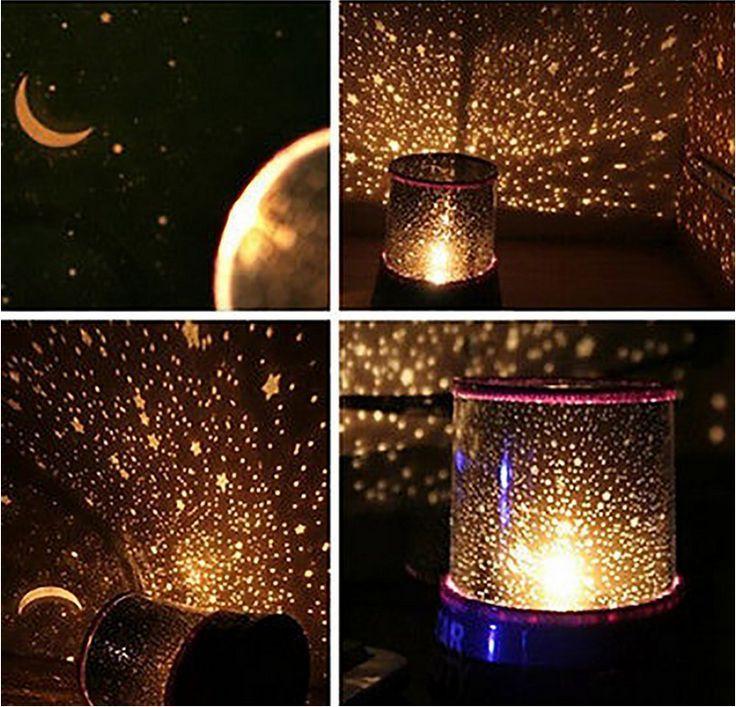 Twilight Star Master Beauty Projector Night Light Lamp