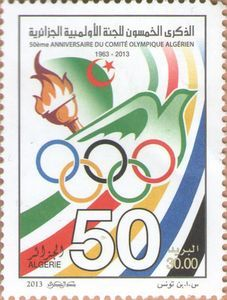 50th Anniversary of the The Algerian Olympic Committee