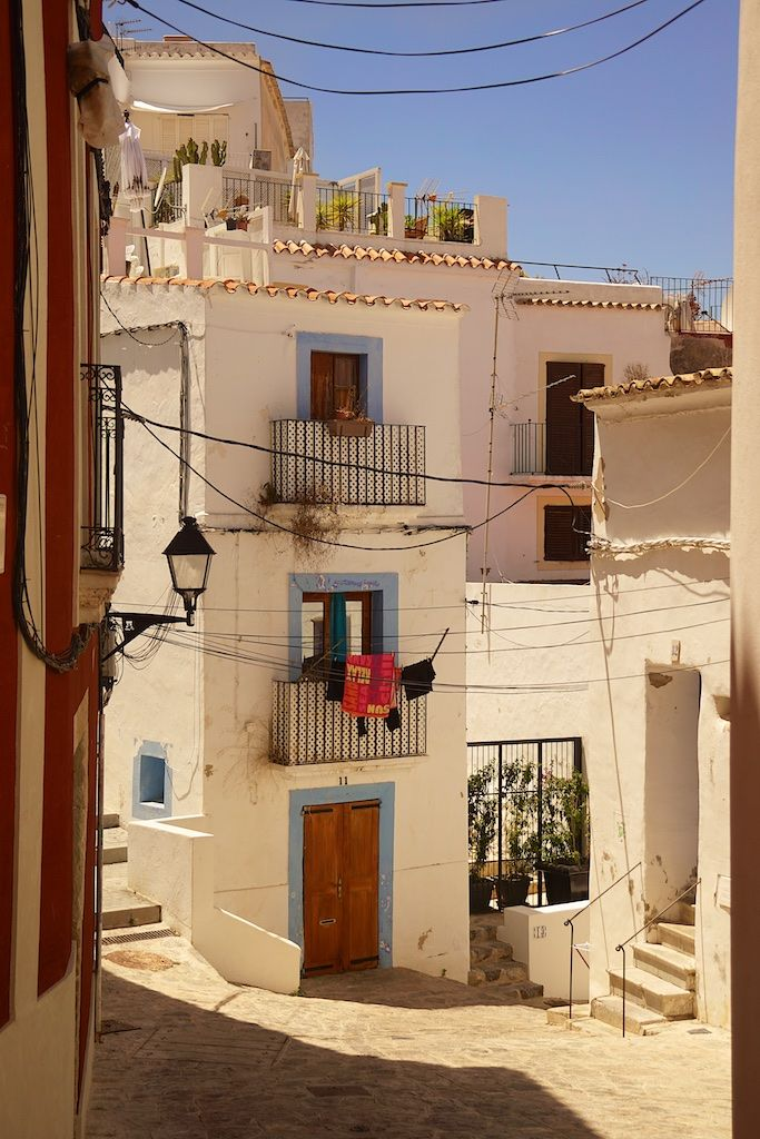 Exploring the neighborhood of Dalt Vila, Ibiza