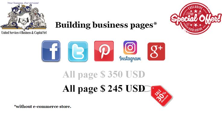 Building business pages.
