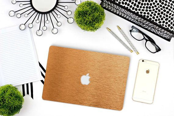 Brushed Copper Metallic Skin for Apple Macbook Air by Cliqueshops