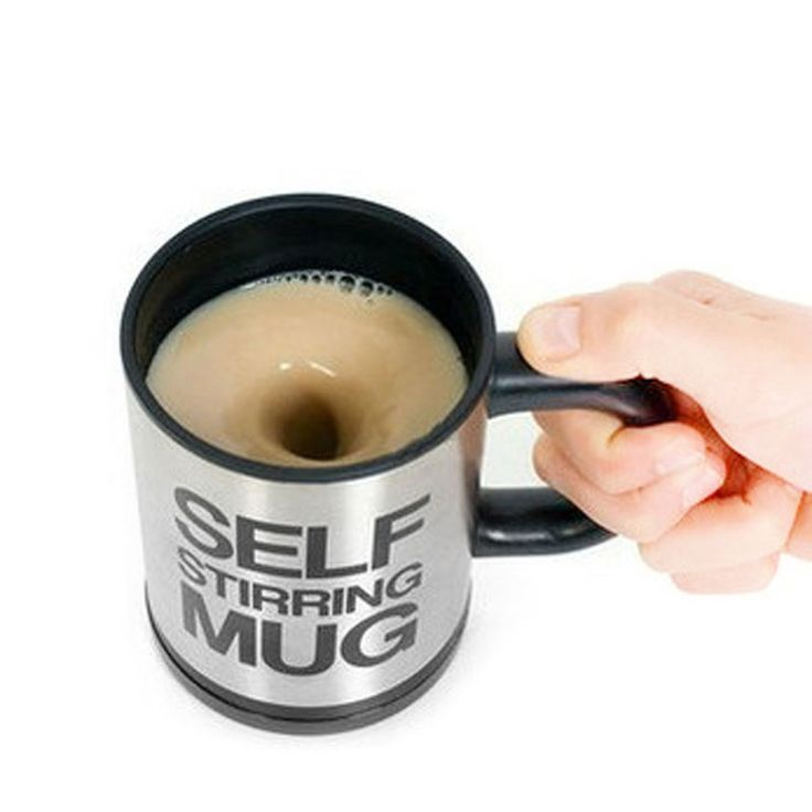 400 ML Self Stirring Coffee Cup Mugs Double Insulated Coffee Mug Automatic Electric Coffee Cups Smart Mugs Mixing Coffee Cup