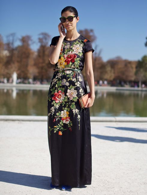 Givenchy embroidered dress