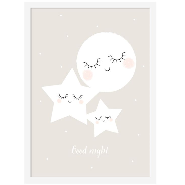 "NEW ! Affiche ""Good Night"" | Zü"