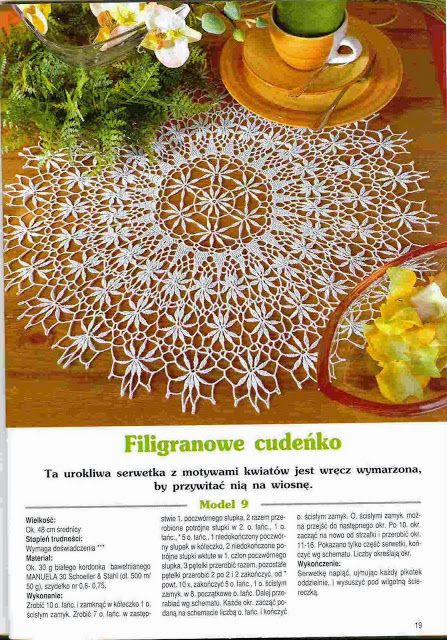 Kira crochet: Crocheted scheme no. 444