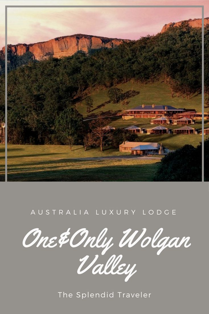 Australia Luxury Lodge | One&Only Wolgan Valley | Occupying a mere 1% of a 7000-acre conservancy, the Emirates One&Only Wolgan Valley Resort boasts of one of the most enviable locations on the planet. A trip to this resort is an experience in itself as the 2.5-hour drive from Sydney takes you to the UNESCO-listed Greater Blue Mountains, home to the greenest greens and the bluest blues on the planet.