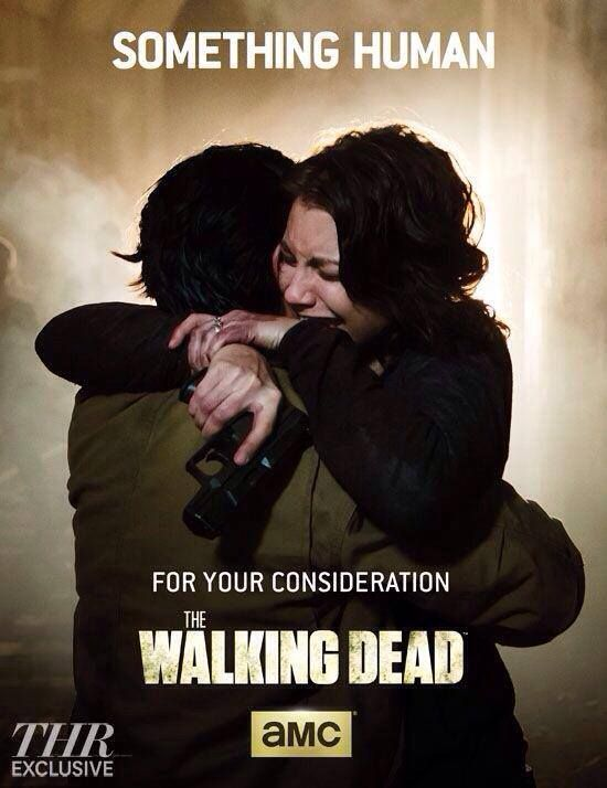 Maggie and Glenn ~ Emmy Consideration Poster ~ The Walking Dead