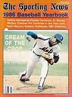 1986 THE SPORTING NEWS BASEBALL YEARBOOK - NEW YORK METS DOC GOODEN ON COVER - 1986, Baseball, Cover, GOODEN, Mets, NEWS, Sporting, yearbook, York