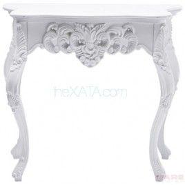 Статуэтка из коллекции White Diva. Консоль украшают многие небольшие барочные украшения. Выглядит божественно и соблазнительно! Размеры: Высота: 83 см Ширина: 74 см Глубина: 37 см .