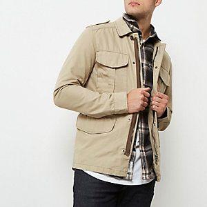 Grey Jack & Jones Vintage field jacket