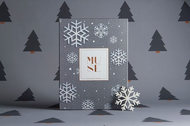 Xmas Packaging - Muse Chocolate Concept on Packaging of the World - Creative Package Design Gallery