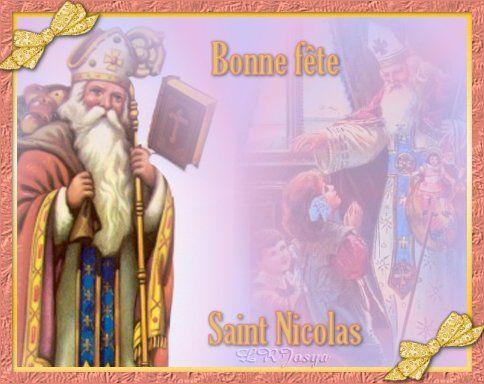 Carte virtuelle, Bonne fête Saint Nicolas