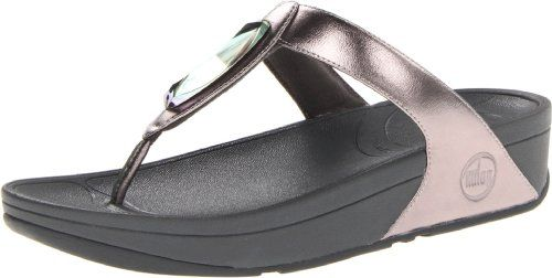 fitflop womens chada leather flip flop