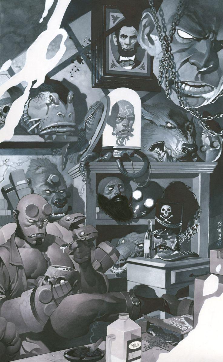 Galeria de Arte (5): Marvel e DC - Página 5 6af3200a77bd5805326c3f70584a6040