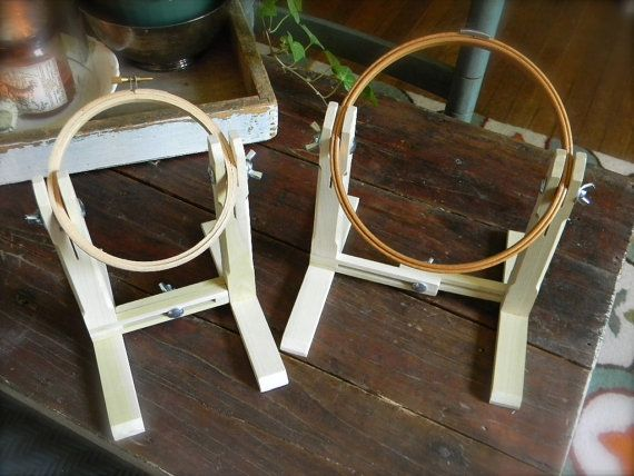 Sit & Stitch© Hoop Stand from Notforgotten Farm