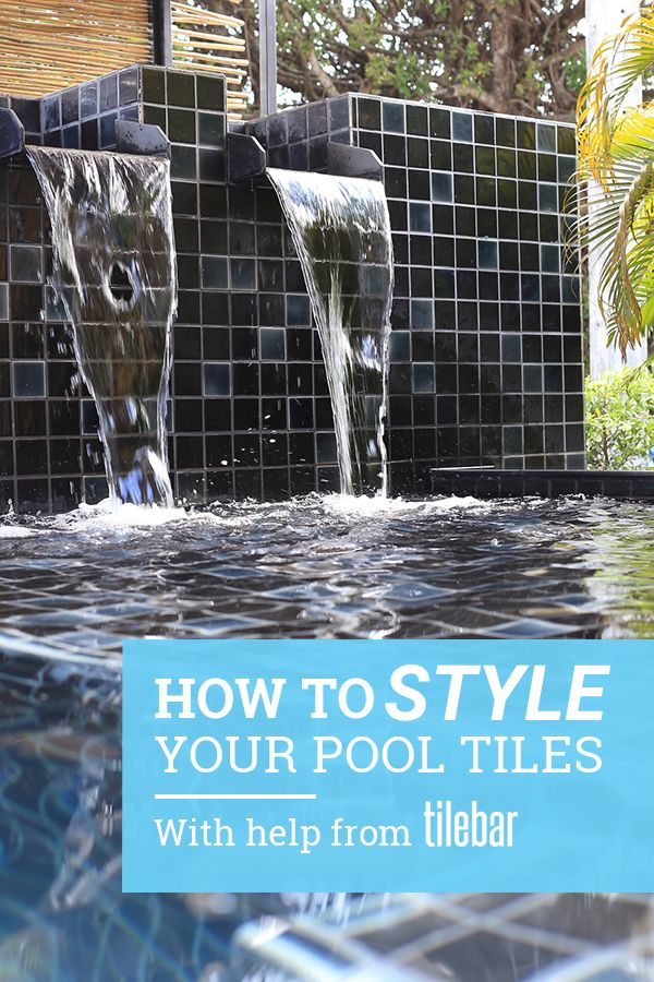 Is your backyard pool ready for a makeover? Let Tile Bar help you make it the most it can be. Tile Bar has the largest selection of gorgeous tile options to give your pool everything it needs to reach its full potential.